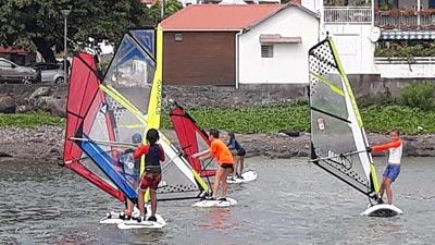ANSP Saint Pierre La Réunion planche a voile